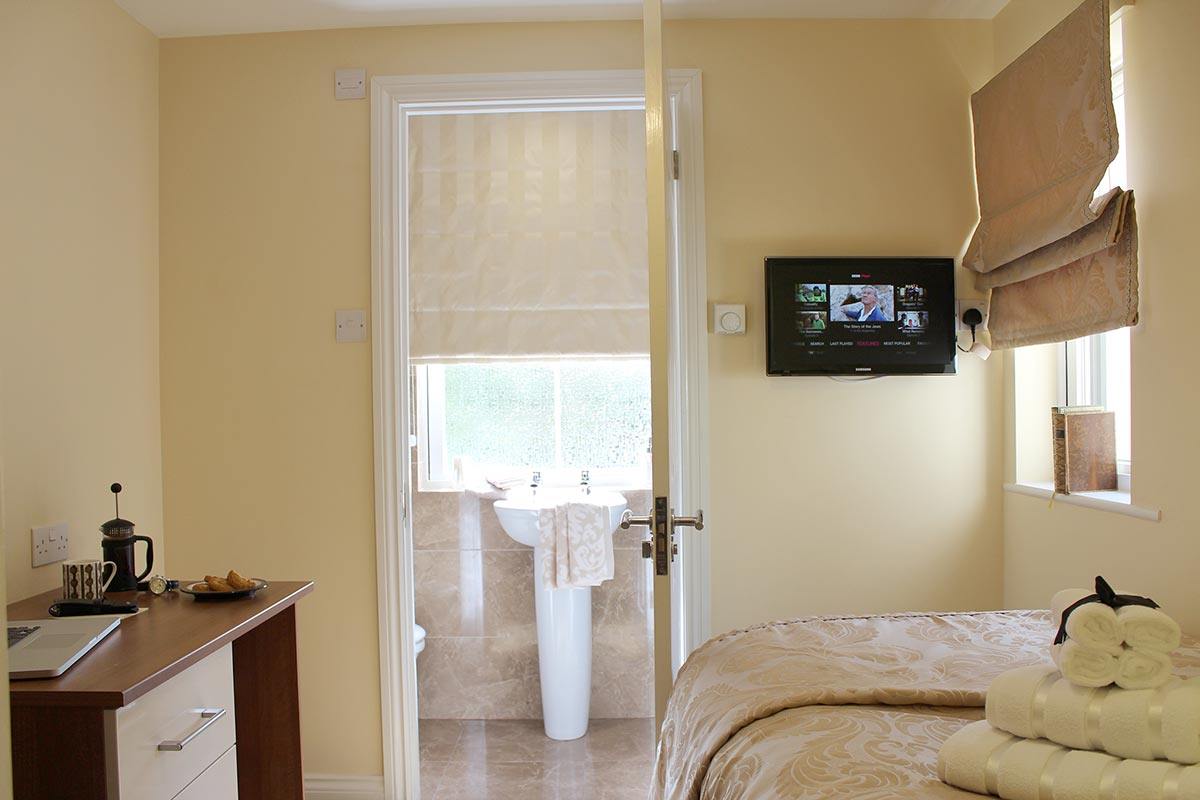 The bathroom in our additional en-suite room