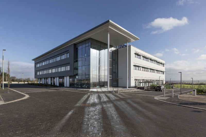 New business offices at the Exeter Science Park