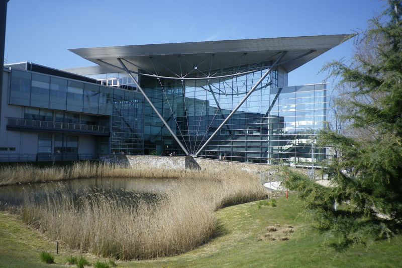 The Met Office is based in one of Exeter's business parks